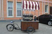 Велокофейня - бизнес под ключ,  кофе на колесах