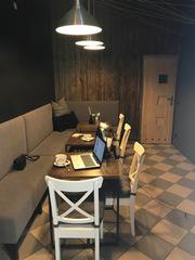 Новое кафе в центре Кракова,  в еврейском квартале.
